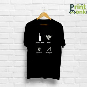 Alcohol Mode T-Shirt