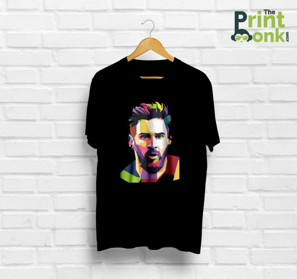 Lionel Messi Black T-Shirt