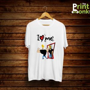 I Love Me Johny Bravo T-Shirt