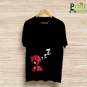 Deadpool Sleeping T-Shirt