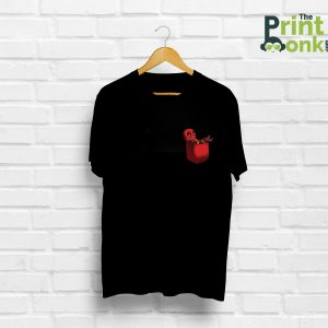 Deadpool Pocket Design T-Shirt