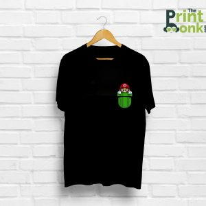 Mario Pocket Design T-Shirt