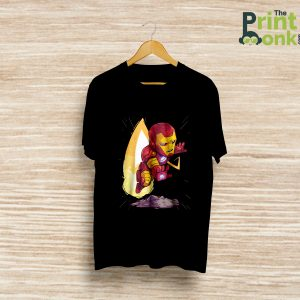 Iron Man Black T-Shirt