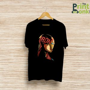 Iron Man Reloaded Black T-Shirt