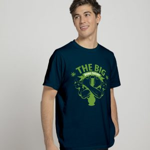 the big bang theory navy blue t-shirt