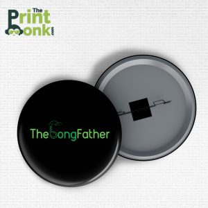 The Bong Father Badge