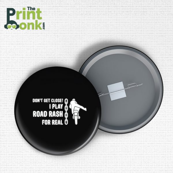 Road Rash Badge