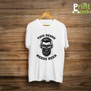 This Beard Needs Beer No Shave November T-Shirt