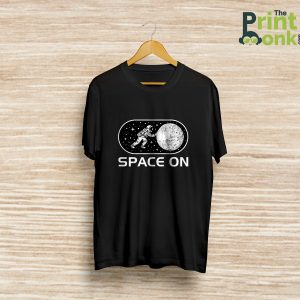 Space on t-shirt