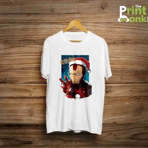 Santa Iron Man T-Shirt