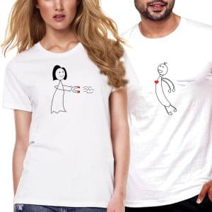 Attracted Couple T-Shirts